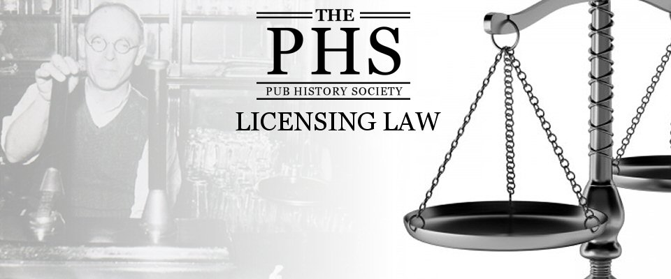 PHS Pub and Licensing Law